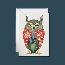 Load image into Gallery viewer, Long Eared Owl - Card - Pack of 6