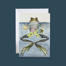 Load image into Gallery viewer, Frog - Card - Pack of 6