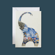 Load image into Gallery viewer, Elephant Squirting Water - Card - Pack of 6