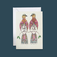 Load image into Gallery viewer, Two Turtle Doves - Card - Pack of 6