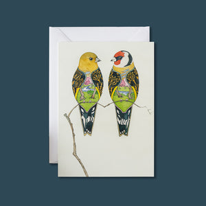 Goldfinches - Card - Pack of 6