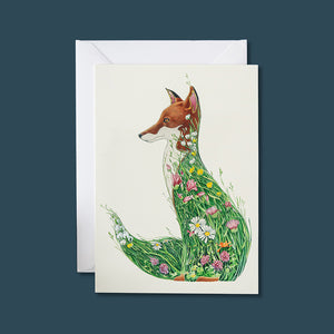 Fox in a Meadow - Card - Pack of 6