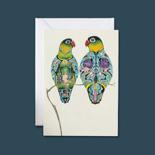 Load image into Gallery viewer, Lovebirds - Card - Pack of 6