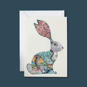 Bunny - Card - Pack of 6