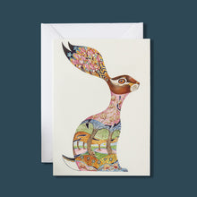 Load image into Gallery viewer, Pink Hare - Card - Pack of 6