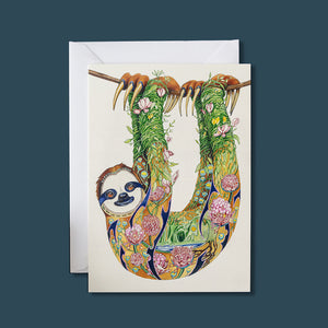Sloth - Card - Pack of 6