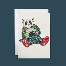 Load image into Gallery viewer, Panda - Card - Pack of 6