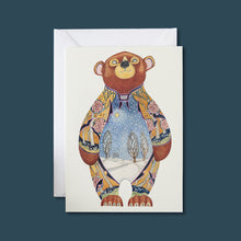 Load image into Gallery viewer, Bear in the Snow - Card - Pack of 6