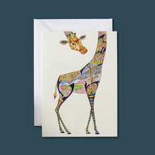 Load image into Gallery viewer, Giraffe - Card - Pack of 6