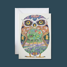 Load image into Gallery viewer, Owl in the Forest - Card - Pack of 6