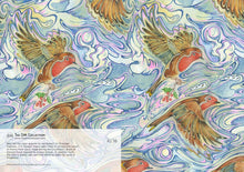 Load image into Gallery viewer, Robin Repeat Pattern - Card - Pack of 6