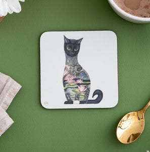 Back Cat - Coaster - The DM Collection