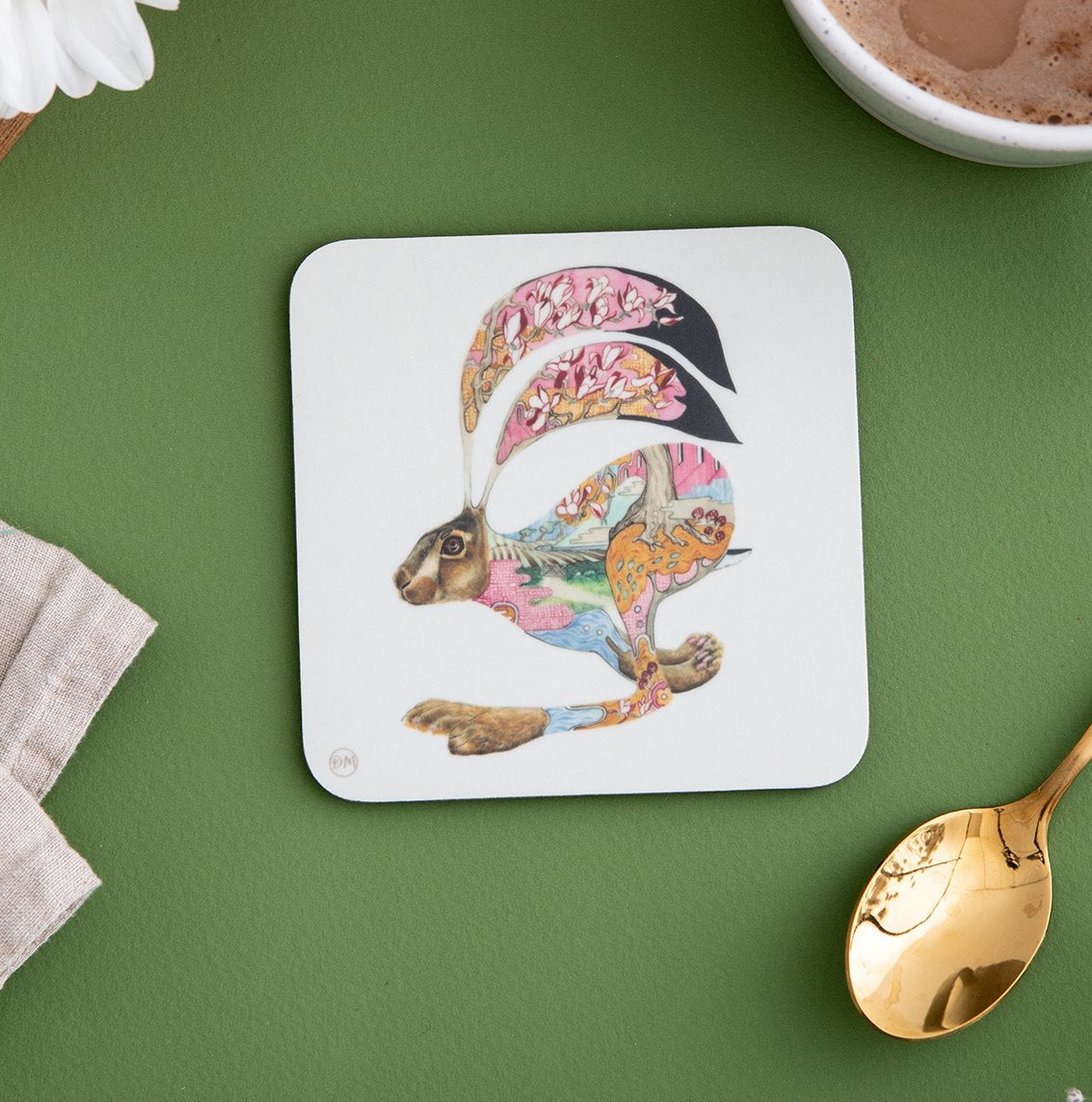 Hare - Coaster - The DM Collection
