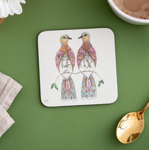 Load image into Gallery viewer, Two Turtle Doves - Coaster - The DM Collection