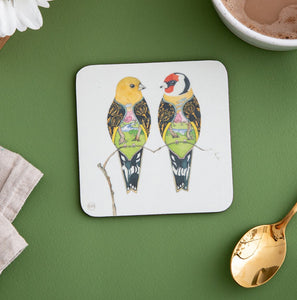 Goldfinches - Coaster - The DM Collection