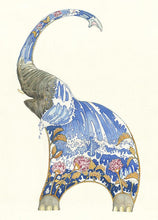 Load image into Gallery viewer, Elephant Squirting Water - Card - The DM Collection