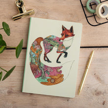 Load image into Gallery viewer, Perfect Bound Notebook - Red Fox - The DM Collection