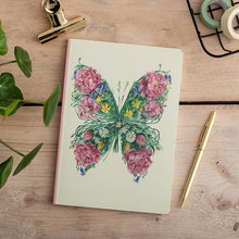 Load image into Gallery viewer, Perfect Bound Notebook - Butterfly - The DM Collection