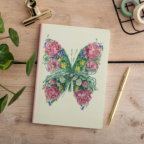Perfect Bound Notebook - Butterfly - The DM Collection