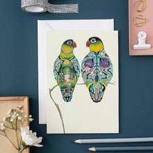 Load image into Gallery viewer, Lovebirds - Card - The DM Collection
