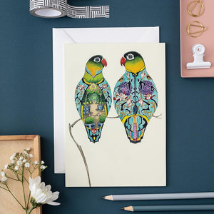 Lovebirds - Card - The DM Collection