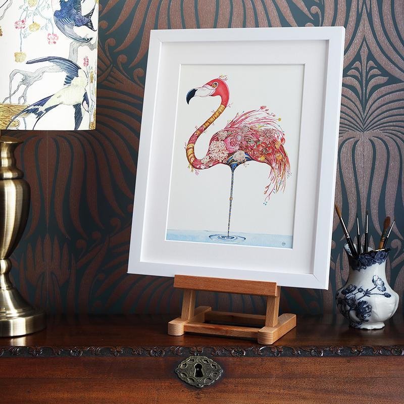 Flamingo - Print - The DM Collection