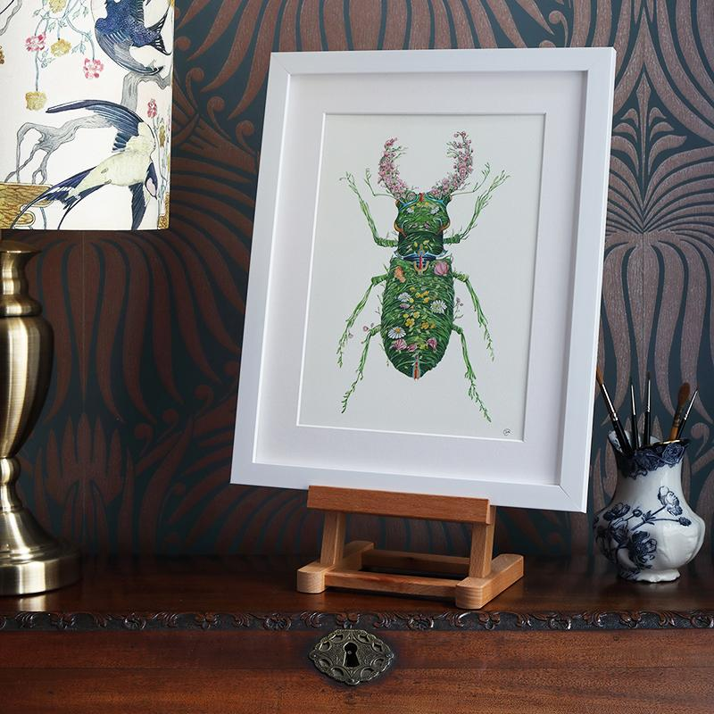 Stag Beetle  - Print - The DM Collection