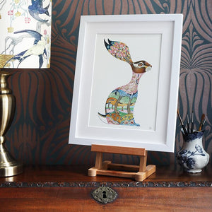 Pink Hare  - Print - The DM Collection