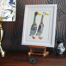 Load image into Gallery viewer, Runner Ducks - Print - The DM Collection