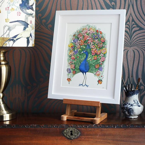 Peacock - Print - The DM Collection