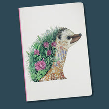Load image into Gallery viewer, Perfect Bound Notebook - Hedgehog