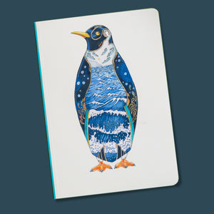 Perfect Bound Notebook - Penguin