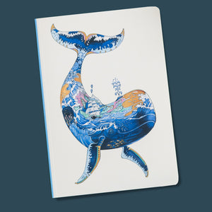Perfect Bound Notebook - Whale