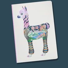 Load image into Gallery viewer, Perfect Bound Notebook - Alpaca
