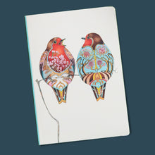 Load image into Gallery viewer, Perfect Bound Notebook - Two Robins