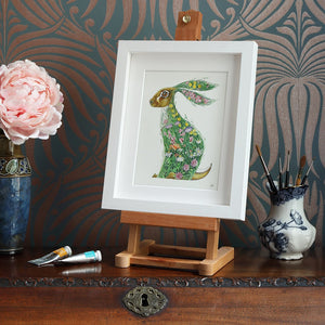 Hare in a Meadow  - Print - The DM Collection