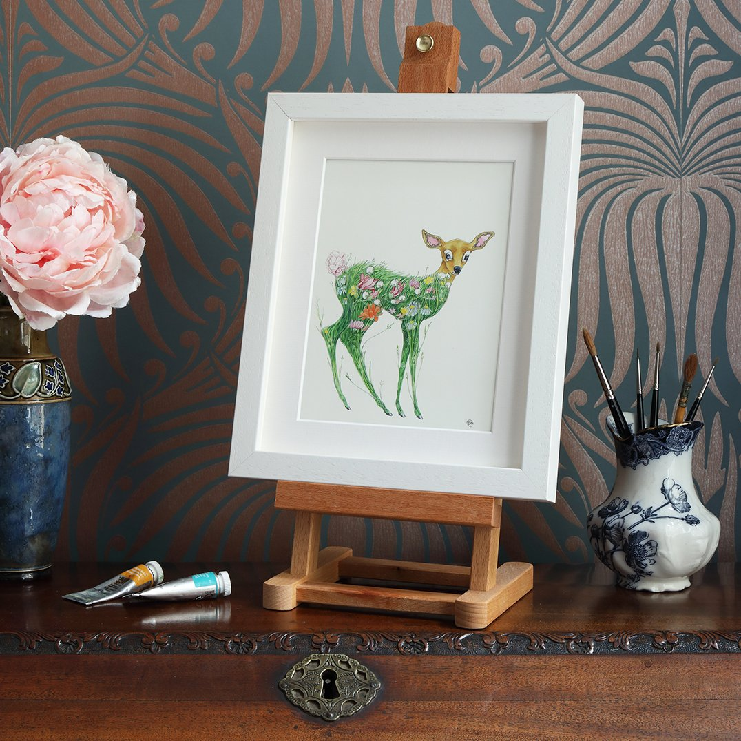 Fawn in a Meadow - Print - The DM Collection