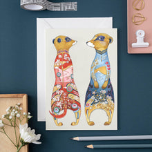 Load image into Gallery viewer, Meerkats - Card - Pack of 6