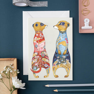 Meerkats - Card - Pack of 6