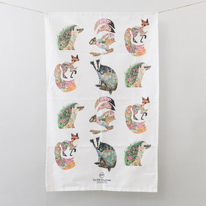 Tea Towel - Woodland - The DM Collection