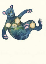 Load image into Gallery viewer, Bear Falling - Print - The DM Collection
