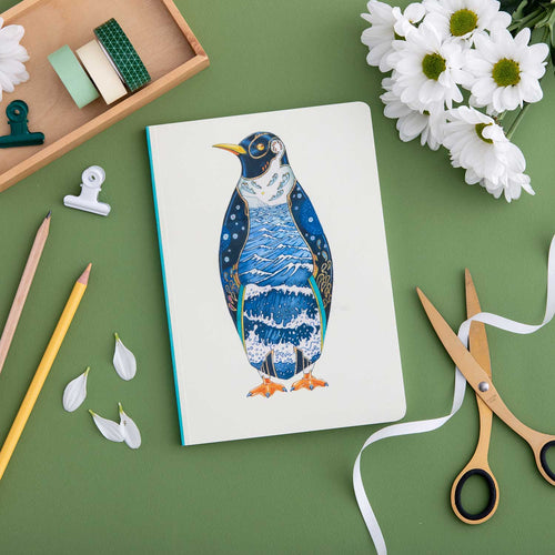 Perfect Bound Notebook - Penguin - The DM Collection