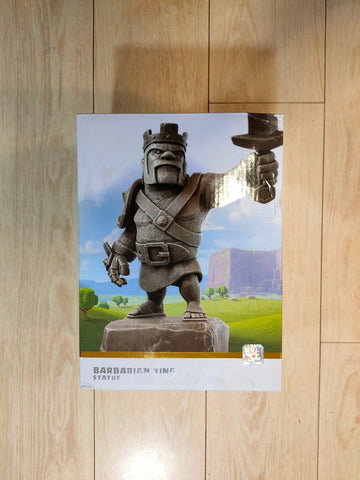 Clash of Clans Stone Barbarian King Statue