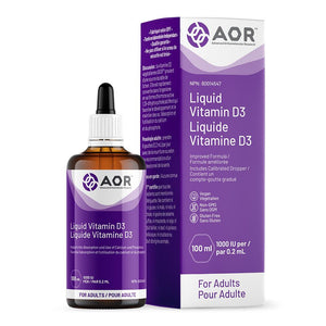 Vitamin D3 Liquid 100 ml Vitamins/Supplements AOR