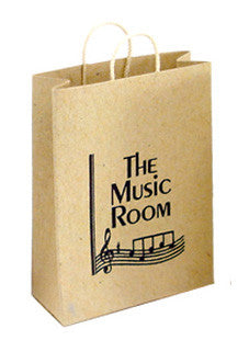 Brown Carrier Bag - Music