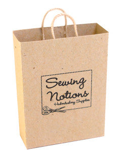 Brown Carrier Bag - Sewing