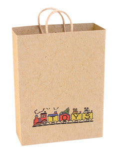 Brown Carrier Bag - Toys