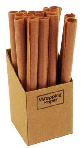 Wrapping Paper Box - Brown