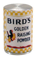 Birds Raising Powder