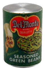 Tin of Seasoned Green Beans